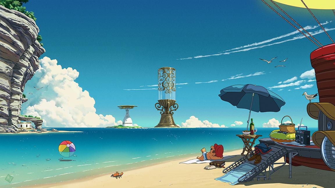 Mario Odyssey Desktop Wallpaper Matt Vince